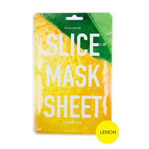 Slice mask sheet(5枚)/ココスター レモン