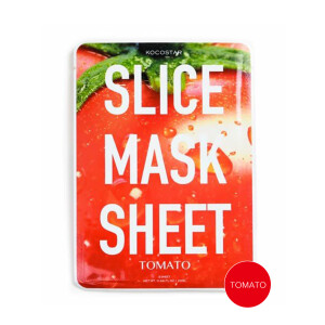 Slice mask sheet(5枚)/ココスター トマト